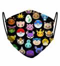 Pokemoji womens face mask