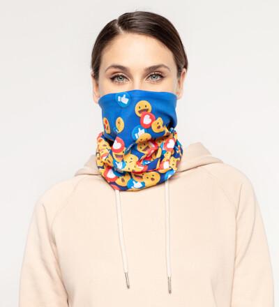 React womens neck warmer