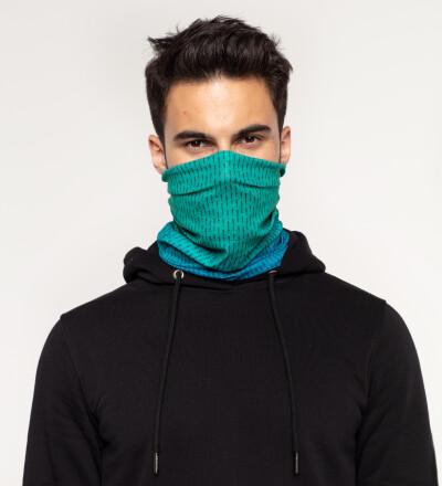 Phthalo ANTI SOCIAL neck warmer