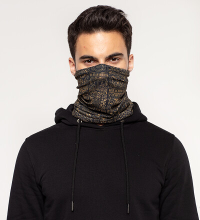 Day of Dead neck warmer
