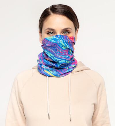 Acid womens neck warmer