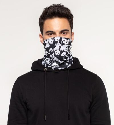 Less Hate More Panda neck warmer