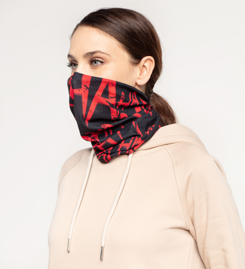Just Hahaha womens neck warmer