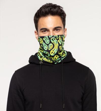 Melted Smileys neck warmer