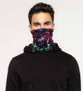 Pokebong Black Gradient neck warmer