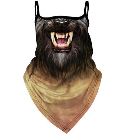 Werewolf bandana face mask