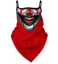 Horror bandana face mask
