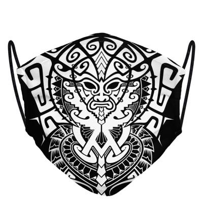 Polynesian face mask