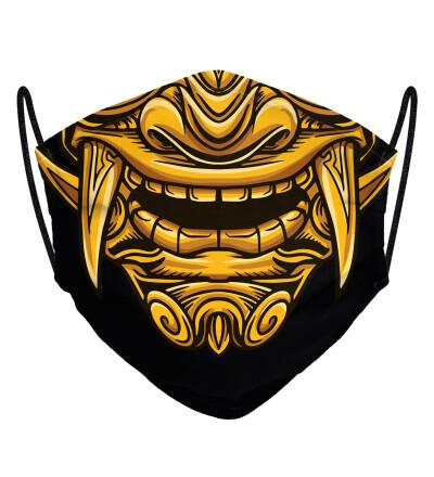 Golden Warrior face mask