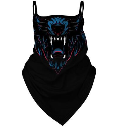 Wolf bandana face mask
