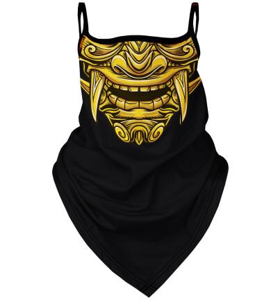 Golden Warrior bandana face mask