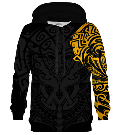 Golden Polynesian hoodie