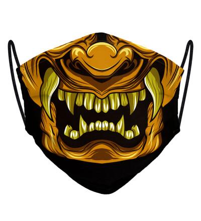Golden Ghost face mask