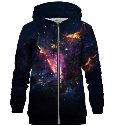 Galactic Beauty zip up hoodie