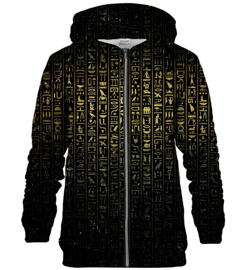 Bluza z zamkiem Hieroglyphs