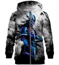 Blue Ghost zip up hoodie
