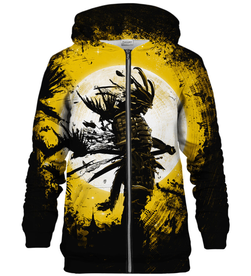Golden Ghost zip up hoodie