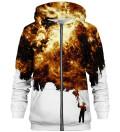 Golden Painter zip up hoodie