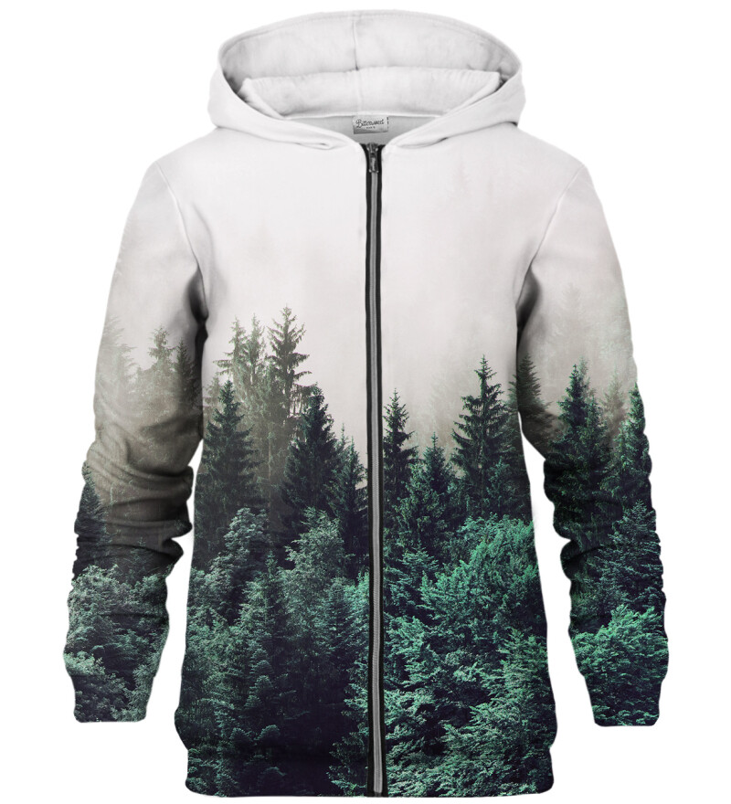 Foggy Forest zip up hoodie