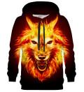 Fire Wolf hoodie