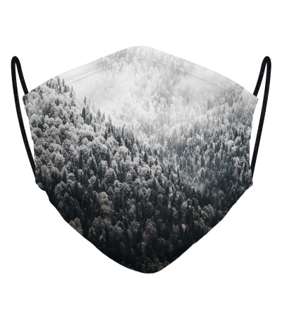 Winter Forest face mask