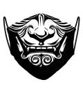 Maseczka Japanese Demon