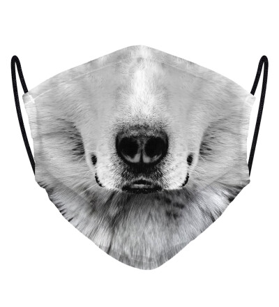 White Wolf face mask