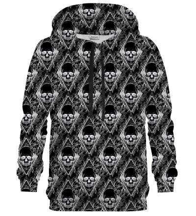Black Memento Mori hoodie