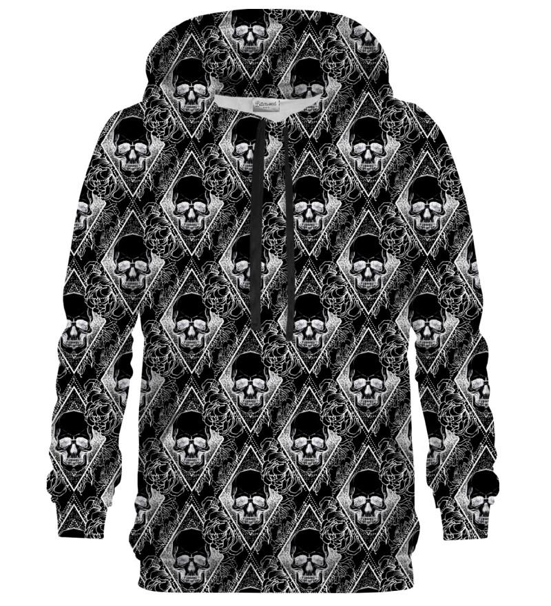 Bluza z kapturem Black Memento Mori