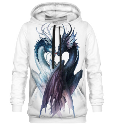 Yin and Yang Dragons hoodie