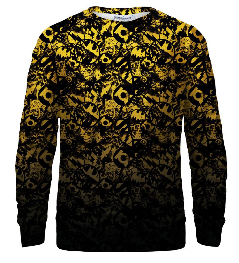 JL logo pattern sweatshirt