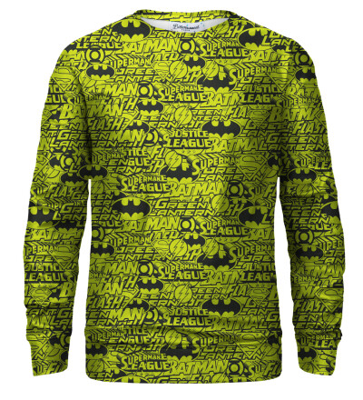 Justice League Pattern sweatshirt