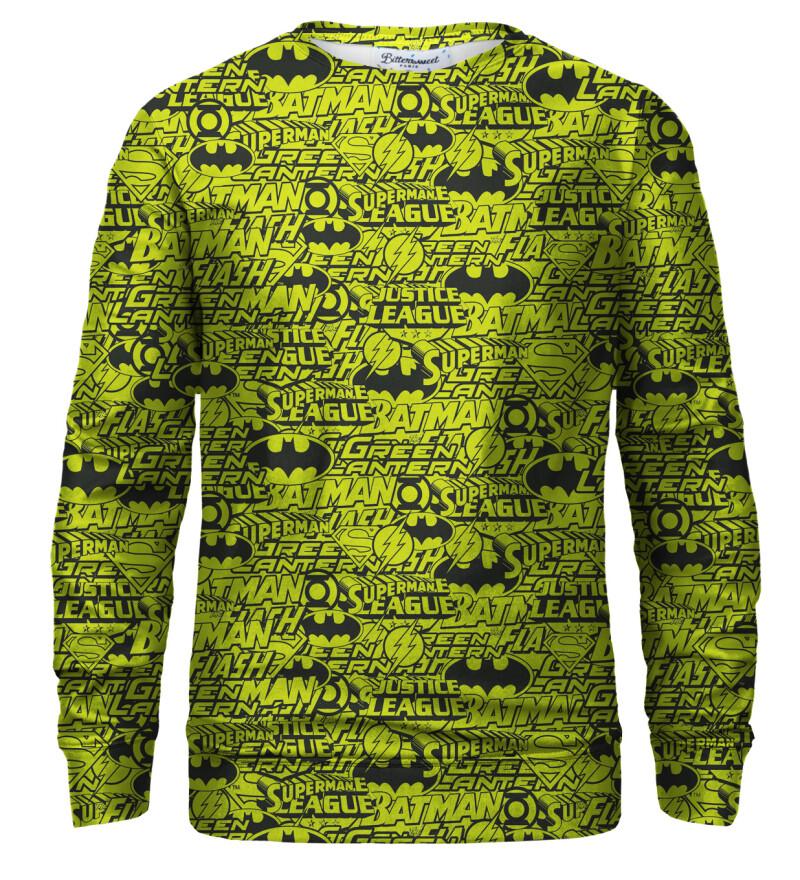 Justice League Pattern sweatshirt
