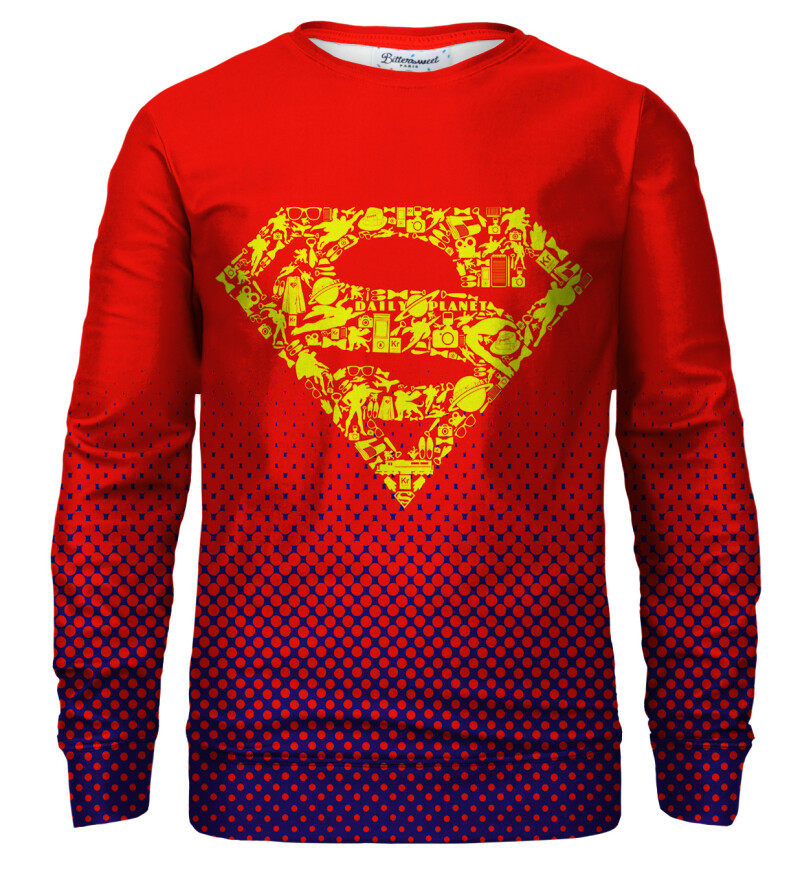 Superman logo sweatshirt