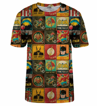 Super Heroes Wall t-shirt