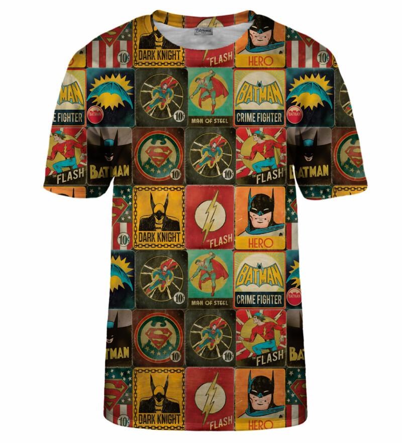 Super Heroes Wall t-shirt