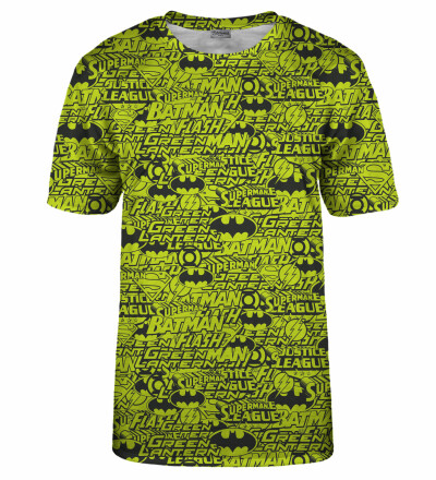 Justice League Pattern t-shirt