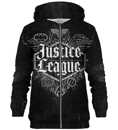 Justice League Emblem zip up hoodie