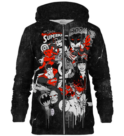Job for a Superman zip up hoodie