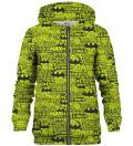 Justice League Pattern zip up hoodie
