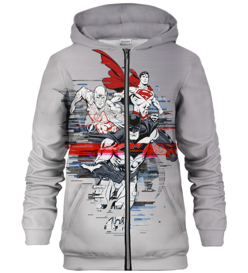 Super Triple zip up hoodie
