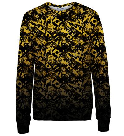 JL logo pattern womens sweatshirt