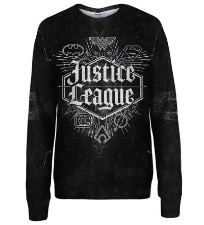 Justice League Emblem womens sweatshirt