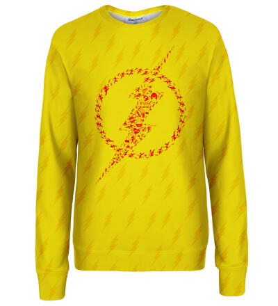 Flash logo womens sweatshirt