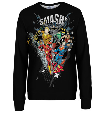 Smash them womens sweatshirt