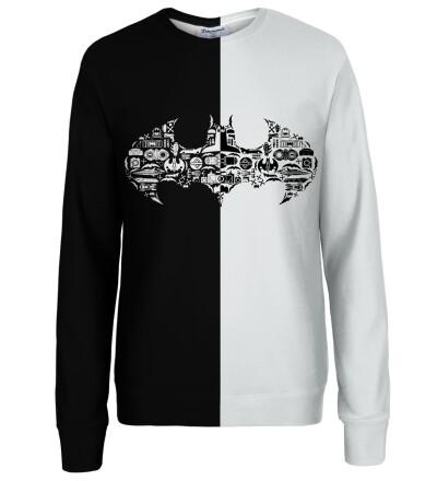 Batman logo womens sweatshirt