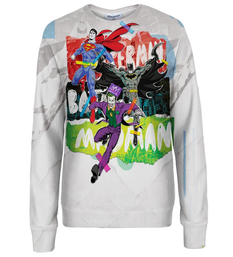 Good and Evil womens sweatshirt