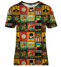Super Heroes Wall womens t-shirt