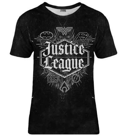 T-shirt damski Justice League Emblem