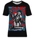Die Laughing womens t-shirt